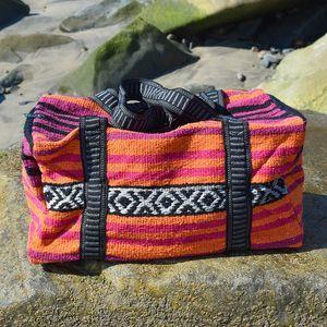 Boho Weekender Travel Bag Carry On Desert Sunrise